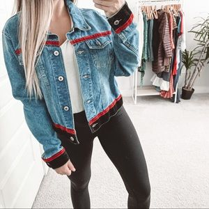 Vintage Cruel Girl Oversized Denim Jean Jacket